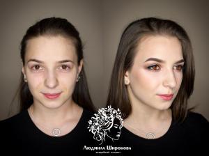 Людмила Широкова  прическа и  макияж